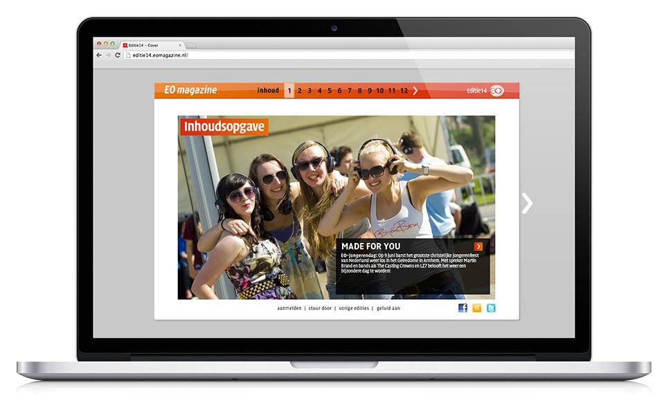 Online magazine EO Online Magazine Evangelische Omroep DutchGiraffe
