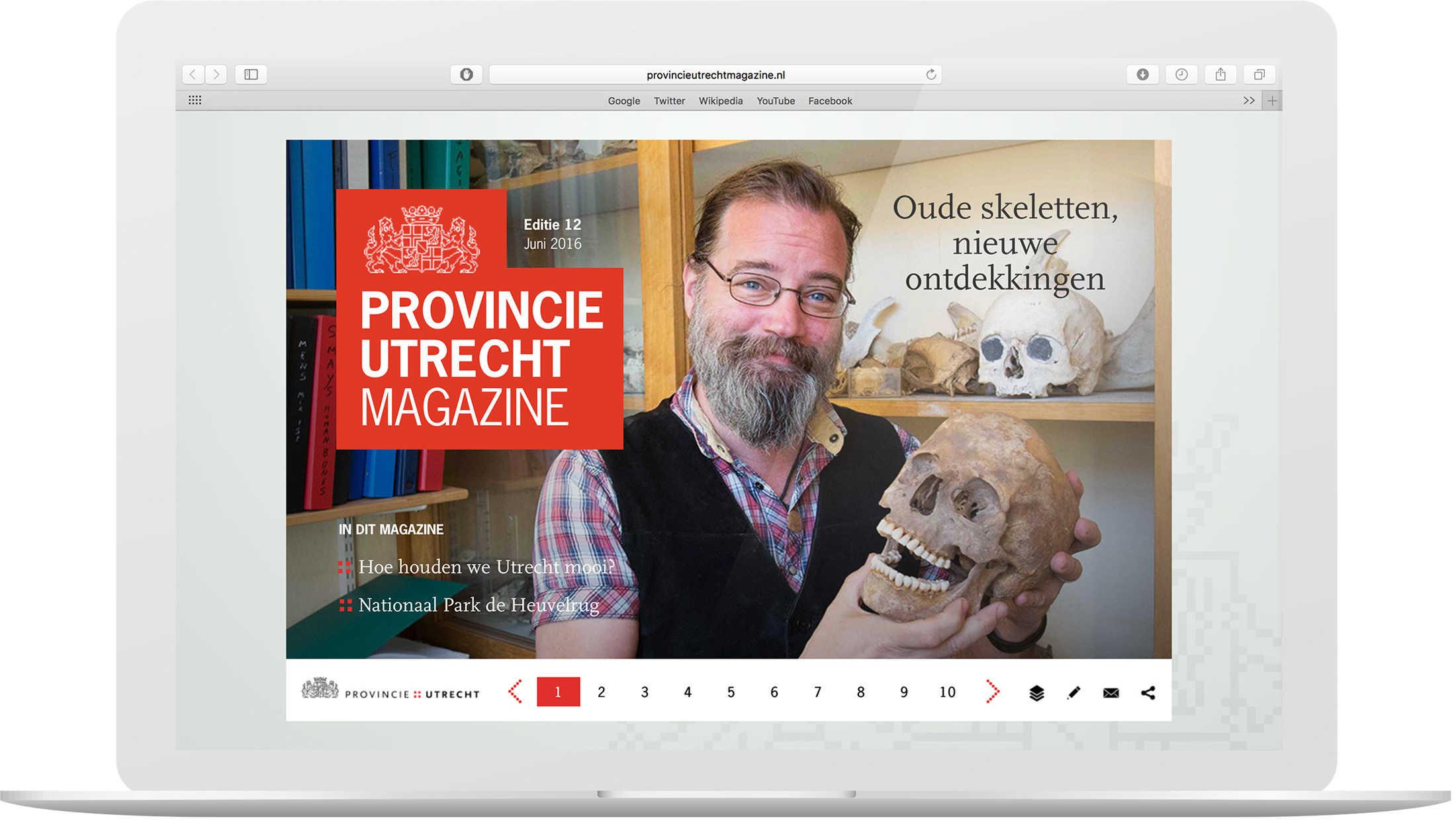 Online magazine Provincie Utrecht Magazine Provincie Utrecht DutchGiraffe