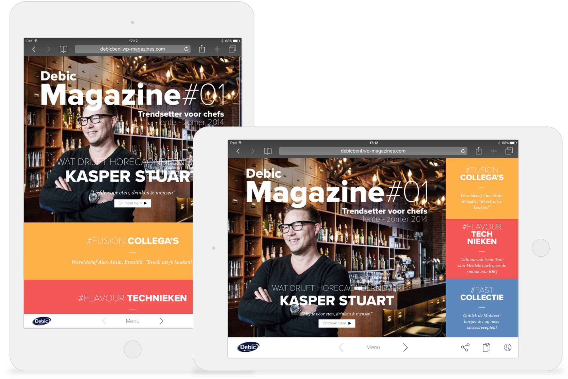 Online magazine DEBIC Foodmagazine DEBIC DutchGiraffe