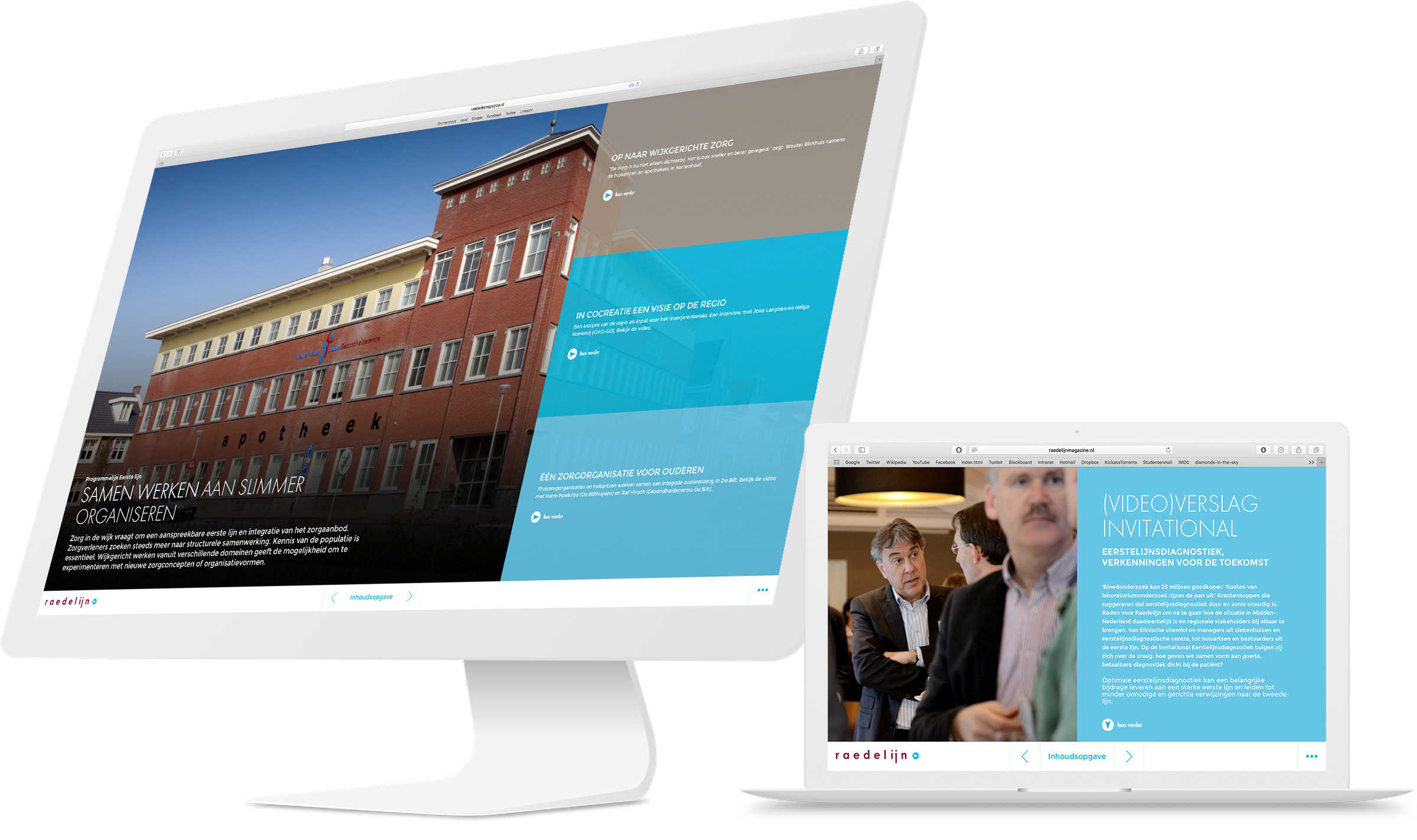 Online magazine Raedelijn jaarverslag 2015 Raedelijn DutchGiraffe