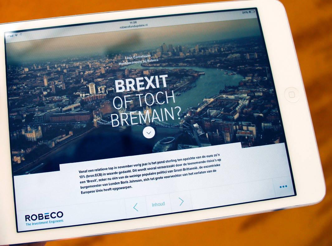 Online magazine Robeco Fund Update Robeco DutchGiraffe