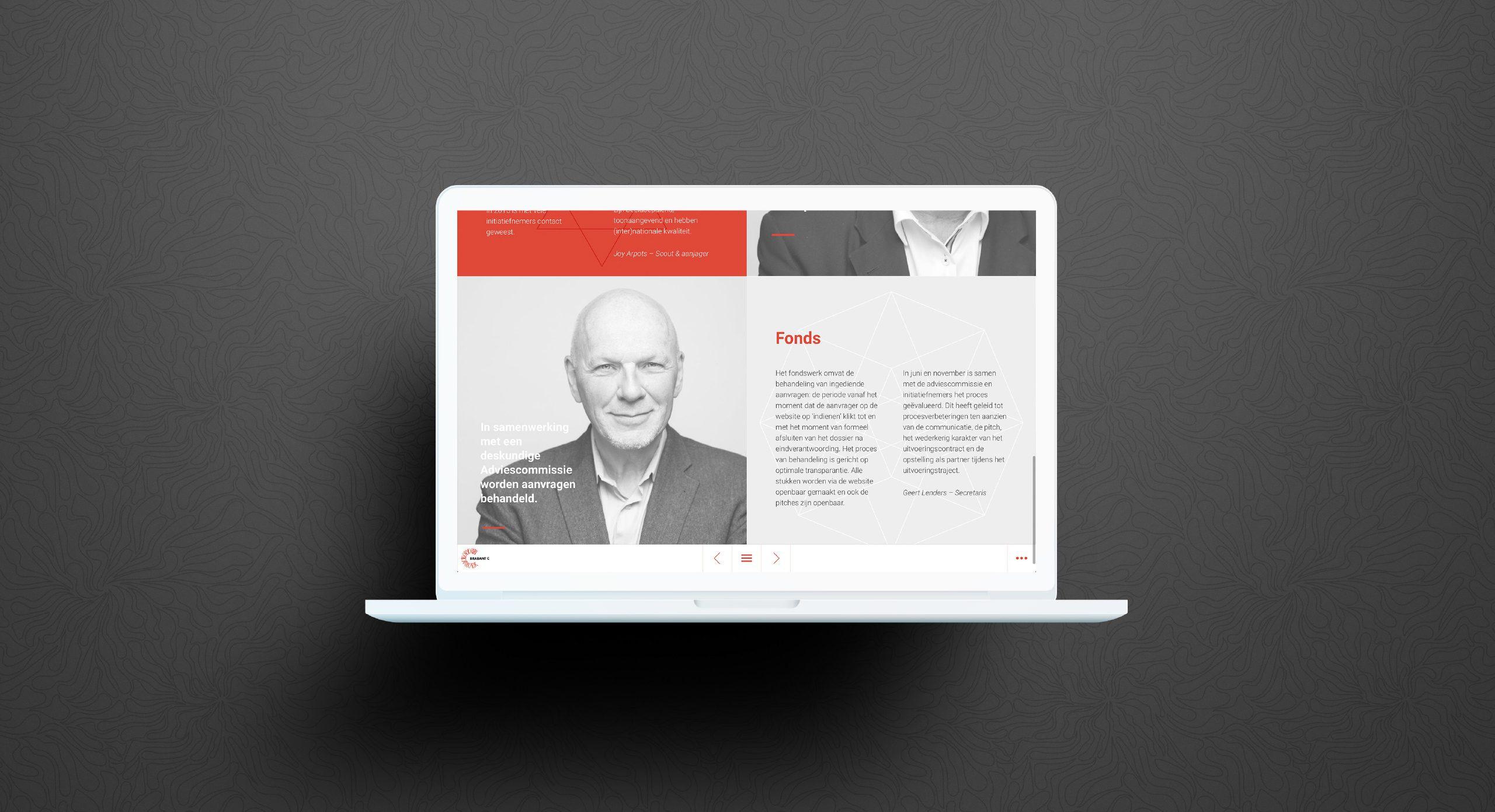 Online magazine Digitaal jaarverslag Brabant C Brabant C DutchGiraffe
