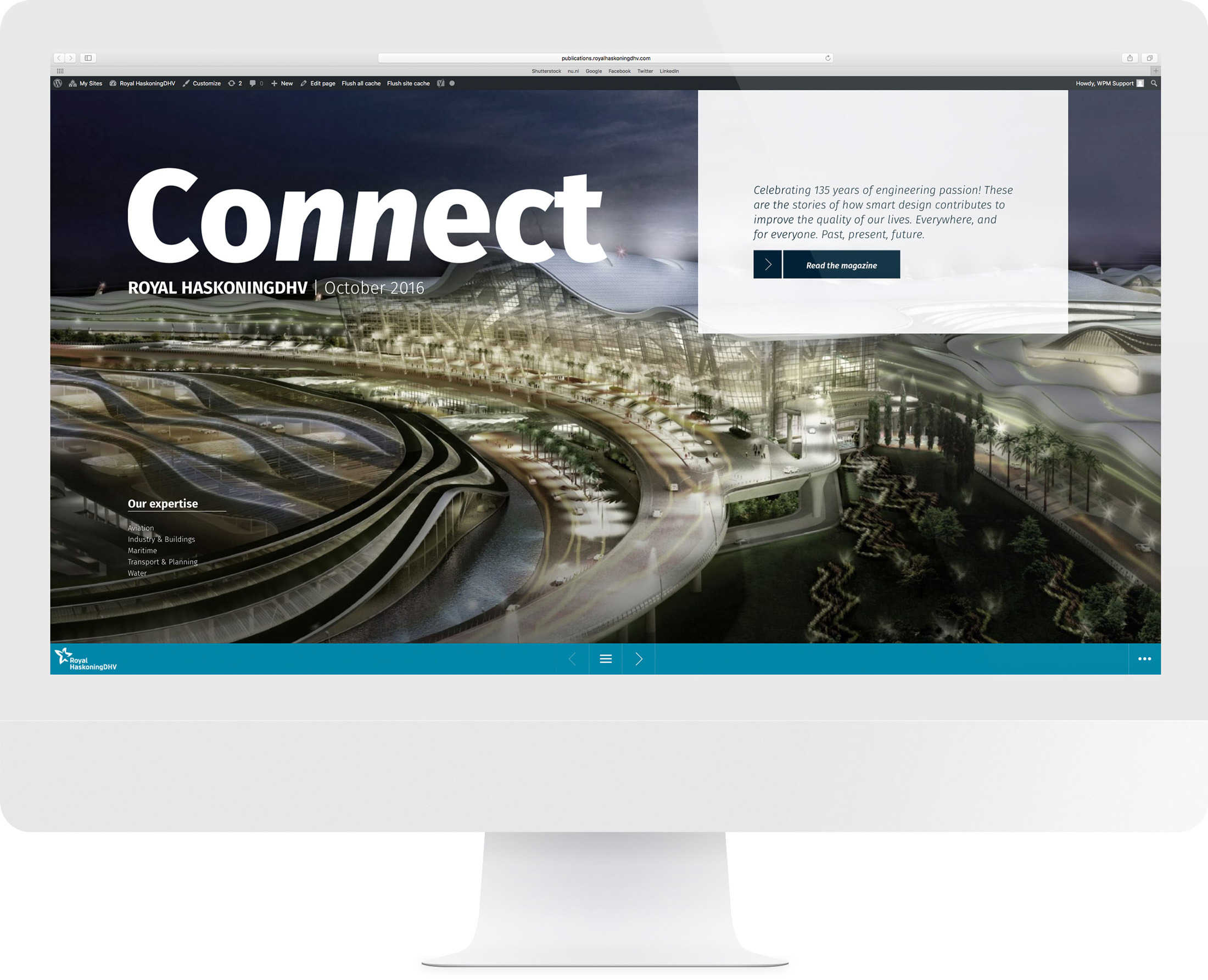 Online magazine Connect Royal HaskoningDHV DutchGiraffe