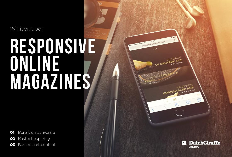 Whitepaper responsive online magazines