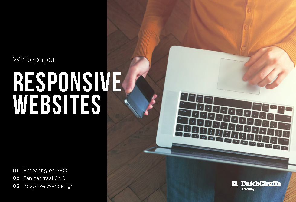 Wwhitepaper responsive websites – Dutchgiraffe | Digital Creatives