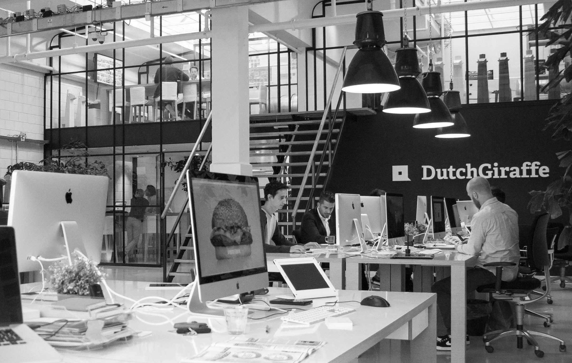 Kantoor zwart wit – Dutchgiraffe | Digital Creatives