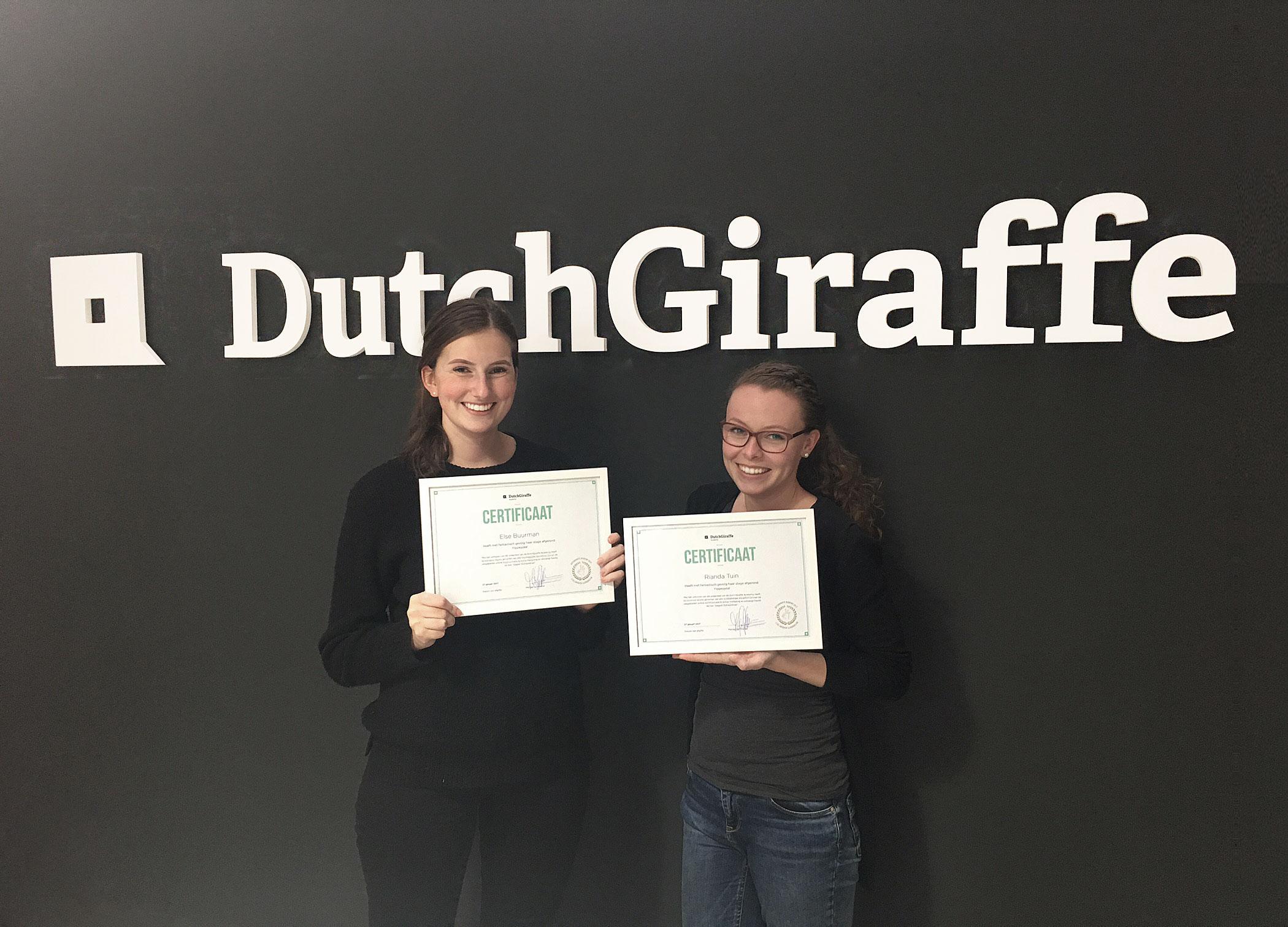 dutch-giraffe-academy-stagiaires-certificaat