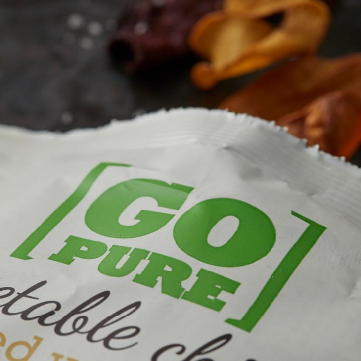 GoPure logo verpakking – Dutchgiraffe   Digital Creatives