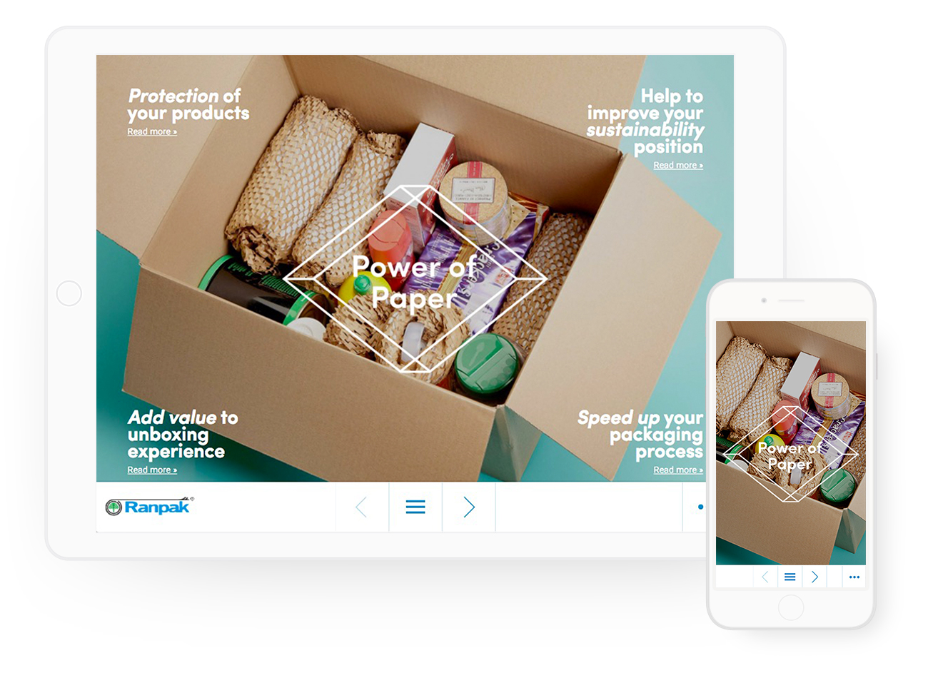 Ranpack online magazine iPad & mobiel – Dutchgiraffe | Digital Creatives