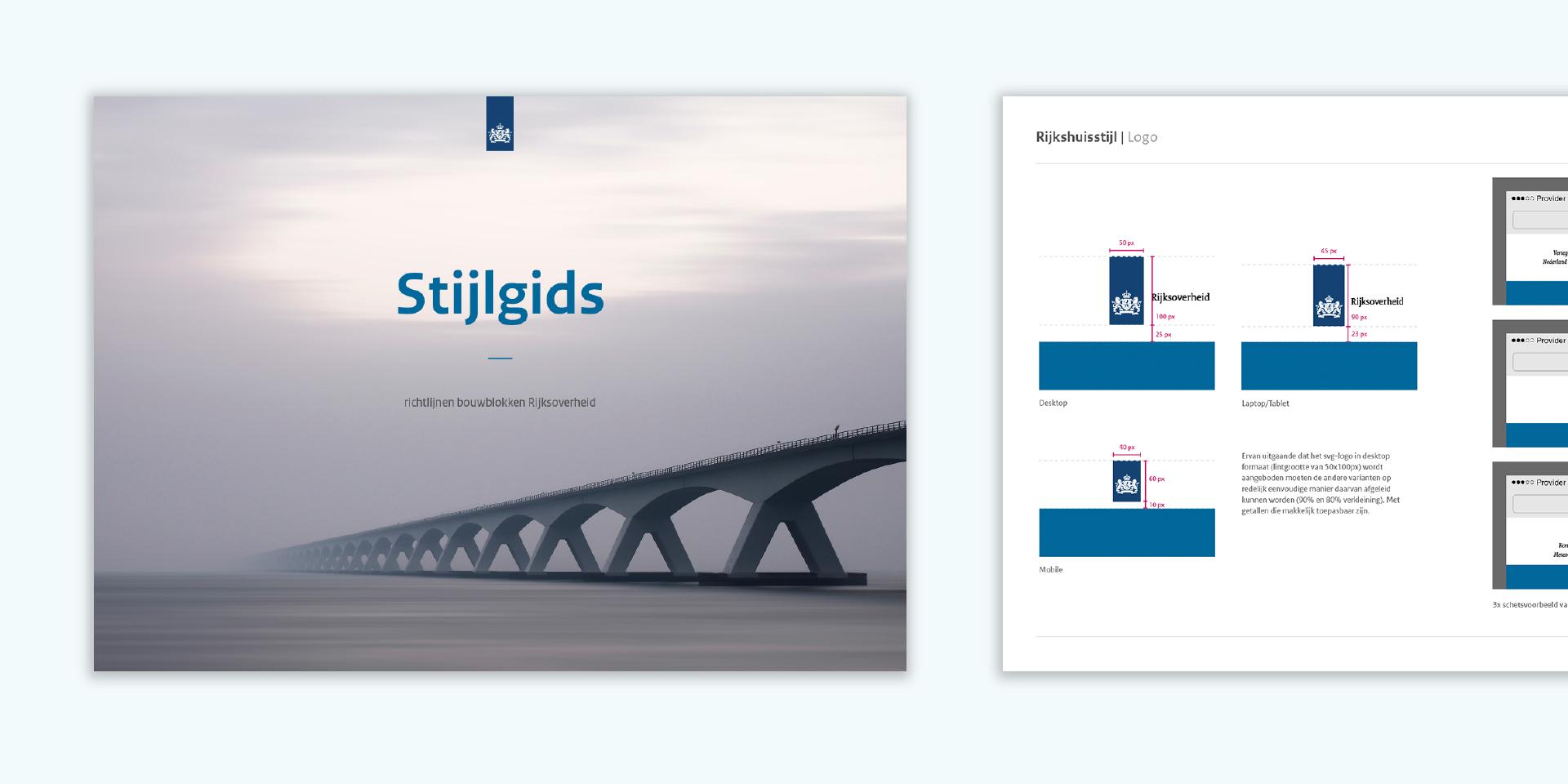 Rijksoverheid. Designtaal voor Digitaal stijlgids – Dutchgiraffe | Digital Creatives