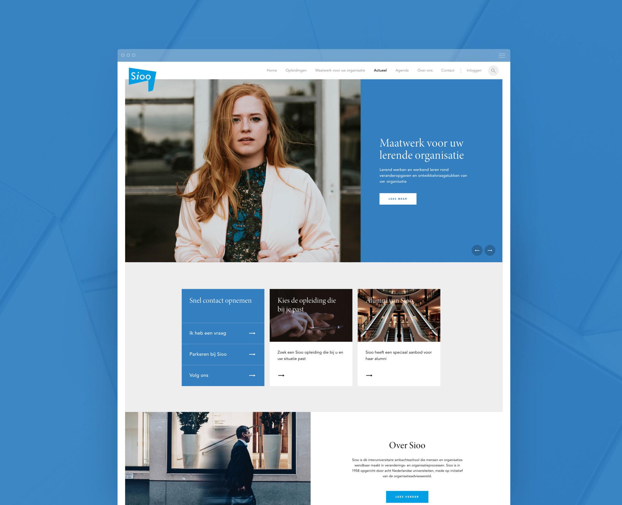Sioo website actueel – Dutchgiraffe | Digital Creatives