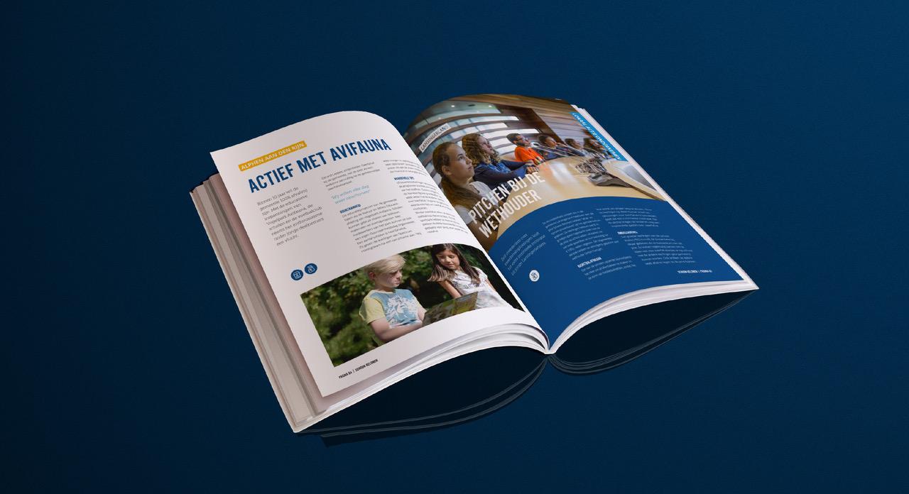 Print magazine Bloemlezing, Nederland Schoon. Schoon Belonen – Dutchgiraffe | Digital Creatives
