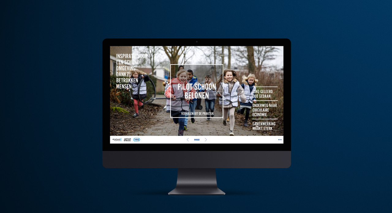 Cover online magazine Bloemlezing, Nederland Schoon. Schoon Belonen – Dutchgiraffe | Digital Creatives