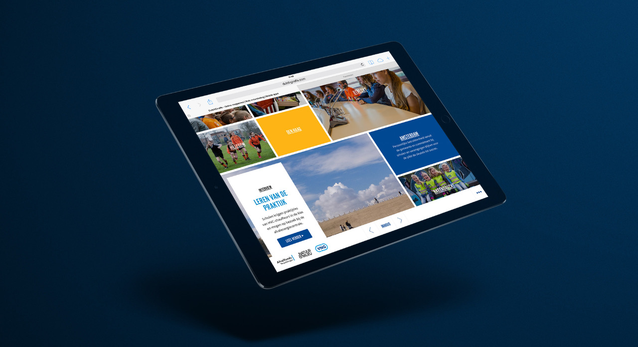 Online magazine Bloemlezing, Nederland Schoon op iPad. Schoon Belonen – Dutchgiraffe | Digital Creatives