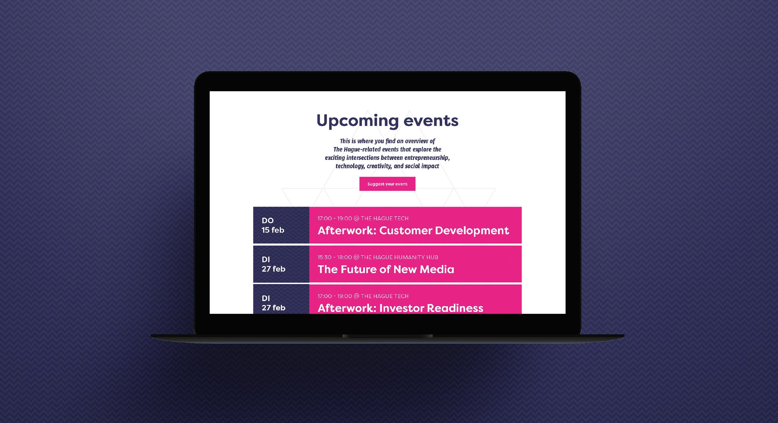 ImpactCity upcoming events – Dutchgiraffe | Digital Creatives