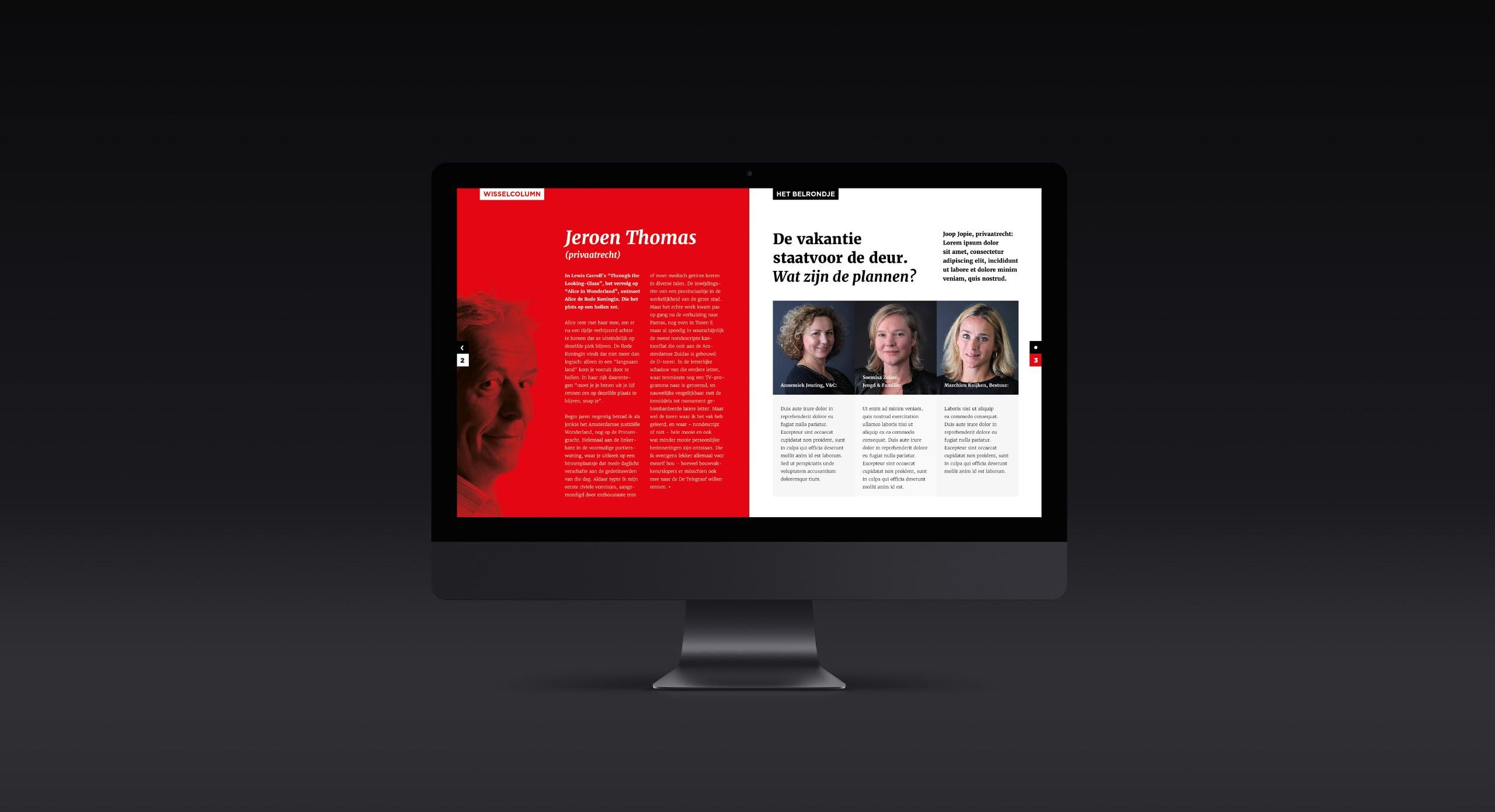 Digitaal magazine Rechtbank Amsterdam – Dutchgiraffe | Digital Creatives