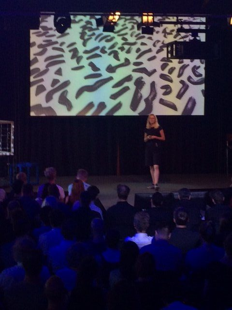 Vera de Pont op de Dutch Digital Day met Dutch Giraffe