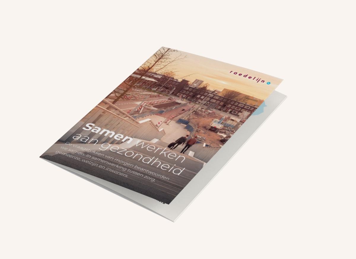 Raedelijn_drukwerk_case_Img 2: Flyer